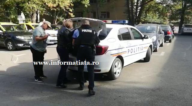 intervenție polițiști dornean cu pistol in spital