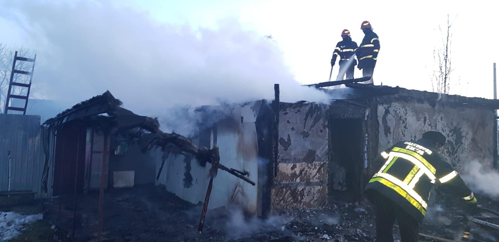 incendiu Boroaia