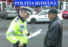 acțiune polițiști pietoni