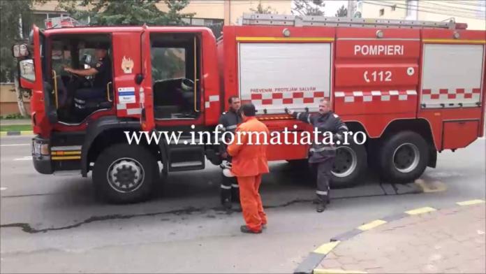 autospecială pompieri