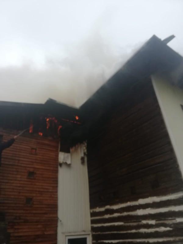incendiu Gura Haitii