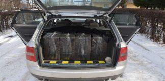 tigări contrabandă portbagaj