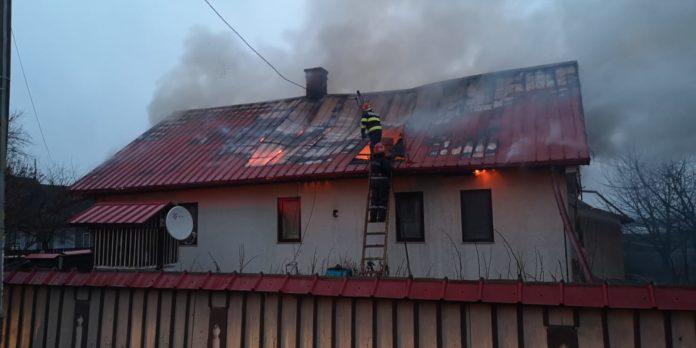incendiu Bădeuți