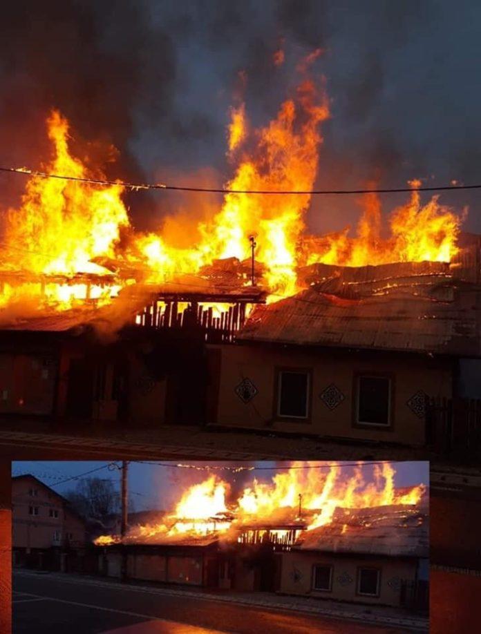 incendiu Ciocănești
