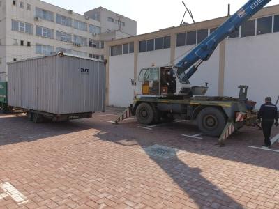 containere Spitalul Județean Suceava