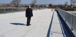 finalizare lucrări podul peste râul Suceava