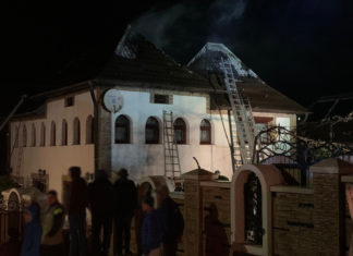 incendiu casă Voitinel