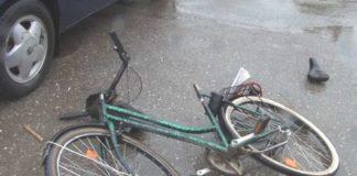 accident bicicletă, sursă foto Bihon