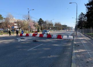 circulație redeschisă pe strada din fața spitalului