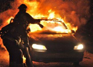 incendiu mașină, sursă foto Vestea.net